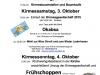 Oktoberfestkirmes Programm 2015