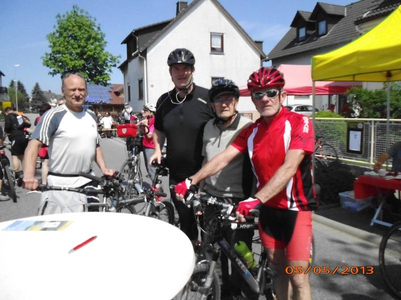 TV Nauheim Radtour Mai 2013