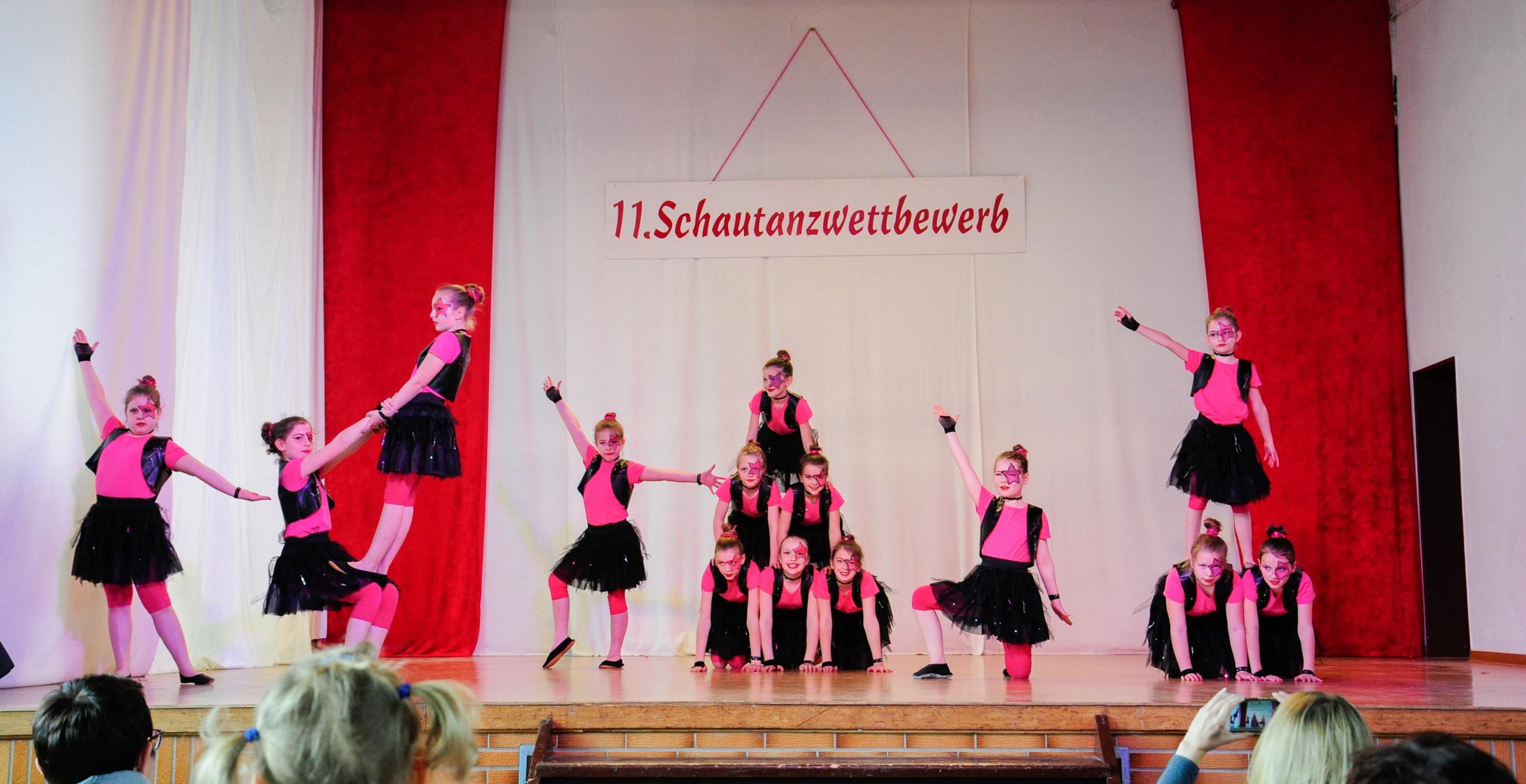 Auftritt Kinder- und Jugendschautanzwettbewerb in Niederneisen, 22.04.2017